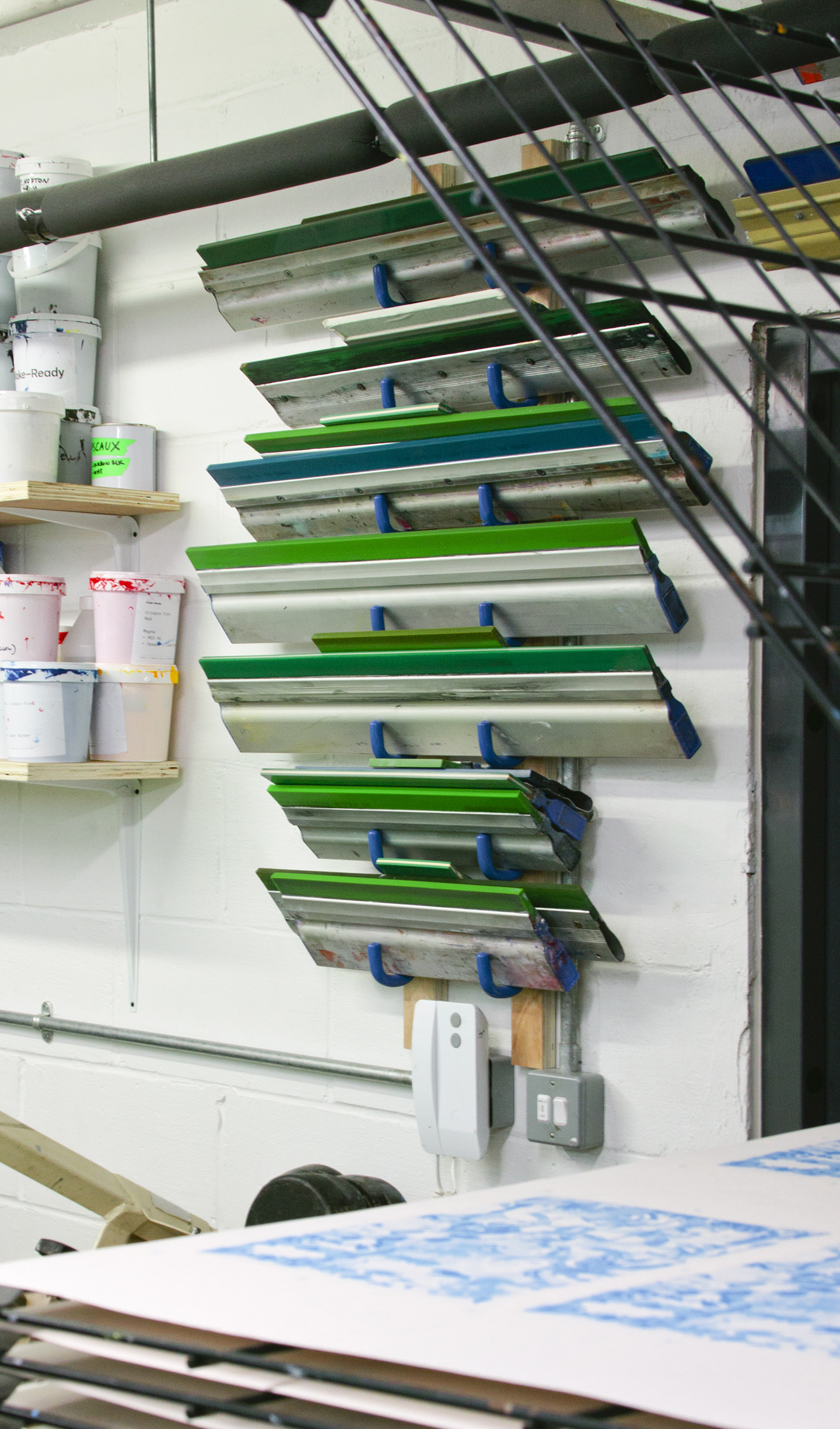 A Tour of the Make-Ready print studio in London from the Print Club ltd. Journal