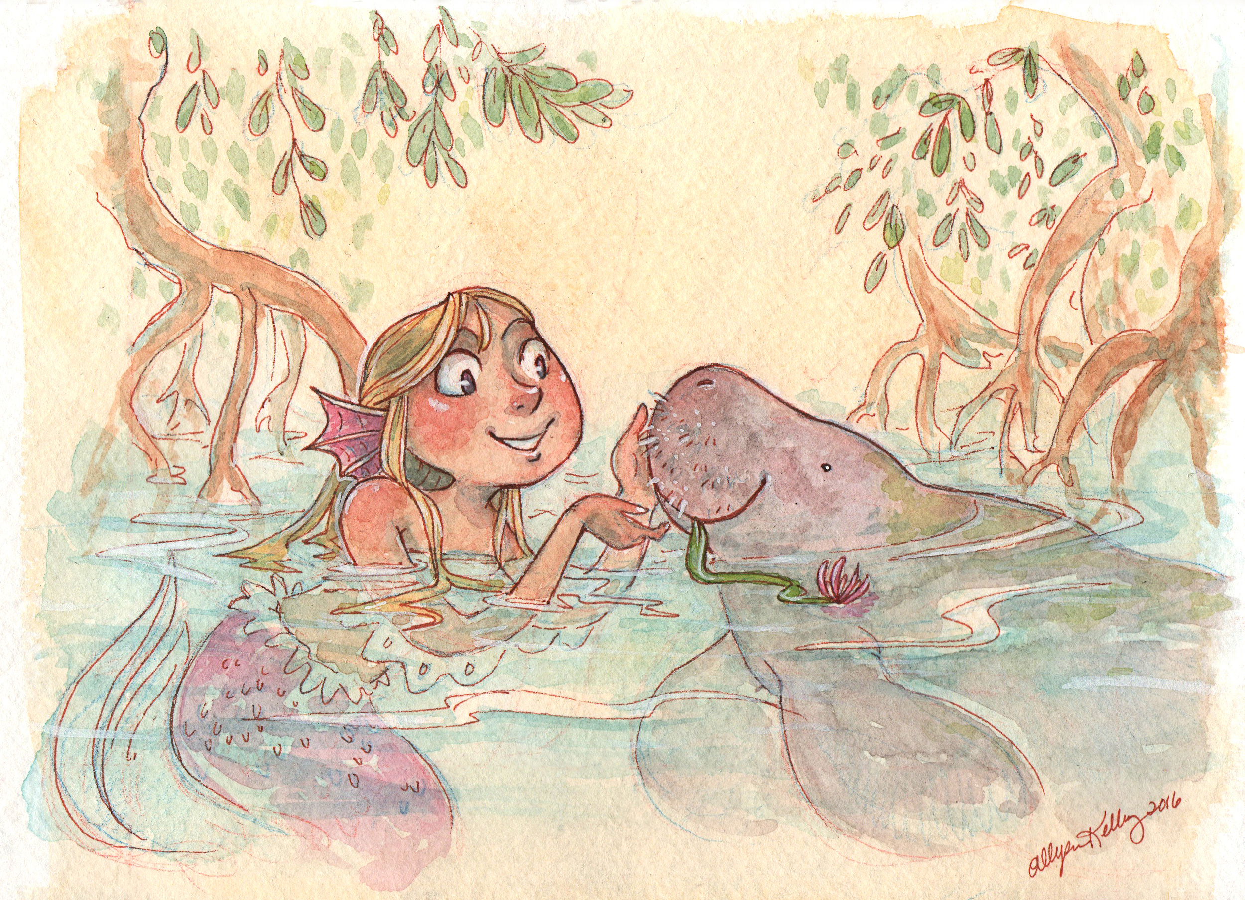 AllysonKelley Mermaids and Manatees