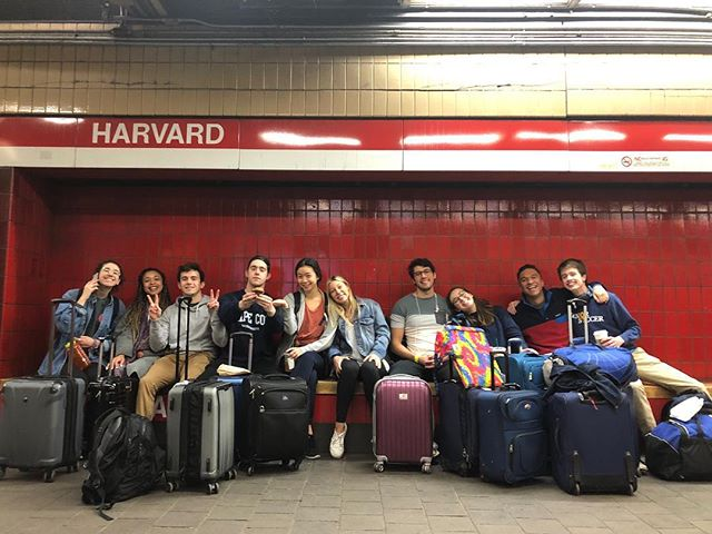 We're off! We have a journey ahead of us, but we can't wait to land in Mexico for our spring tour! We'll be updating all week, so stay posted!  Picture Credits to Hirsh!