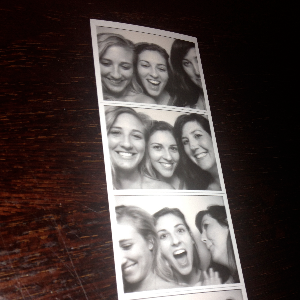 Photoboothed at Three Aces. Which is what I should have called the 3 of us while we were there. 3 of 4 girls. 1 of 3 photostrips.