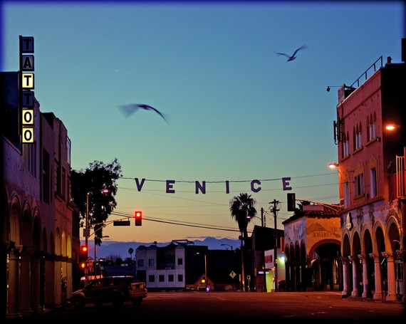 """Venice Beach at Sunrise"" by The Ballad of Aggie and Stan"