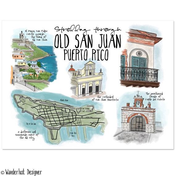 Old San Juan, Wanderlust Designer