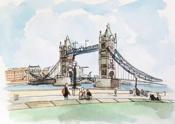 Matt Waruszynski,  Tower Bridge