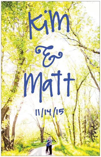 Matt & Kim used drawings I did for them all over their wedding. From photo booth to save the dates.