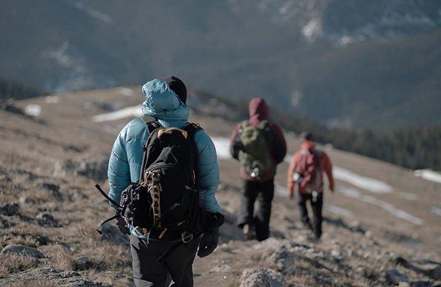 Descending Yale @donowens @coltonkwilliams @cgwtx80 #neverstopexploring #stayandwander #roamtheplanet #colorado