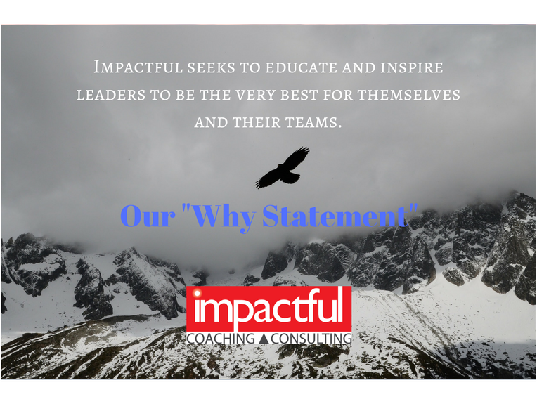 Why Impactful? Because it's a shame for so much leadership talent to operate below capacity.