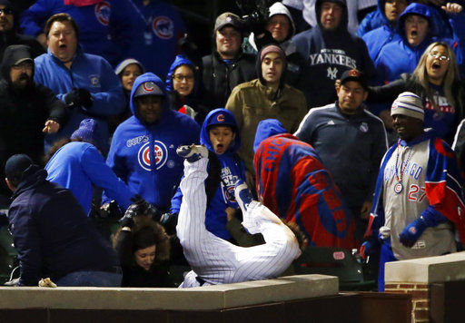 Kyle Schwarber's amazing catch