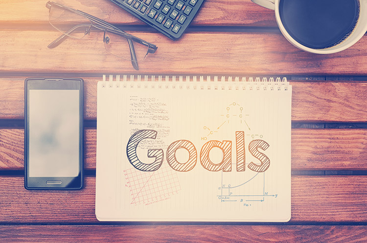 Did you set your daily goals today? Mine included writing this post!