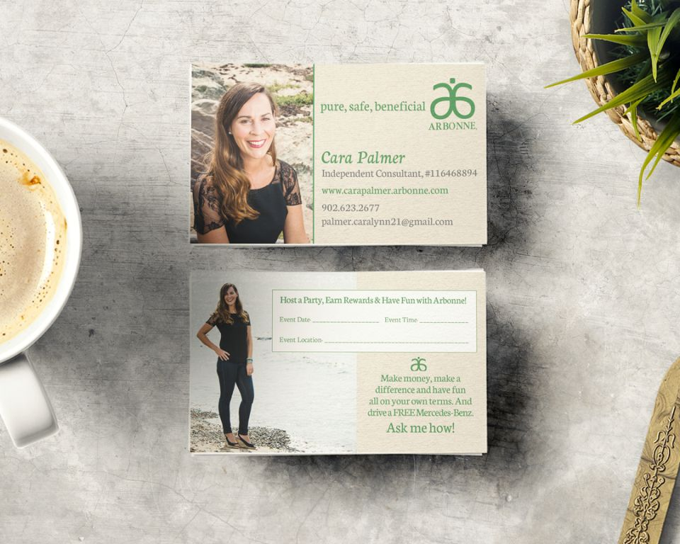 Arbonne_Cara_Palmer_Cape_Breton_Business_Card