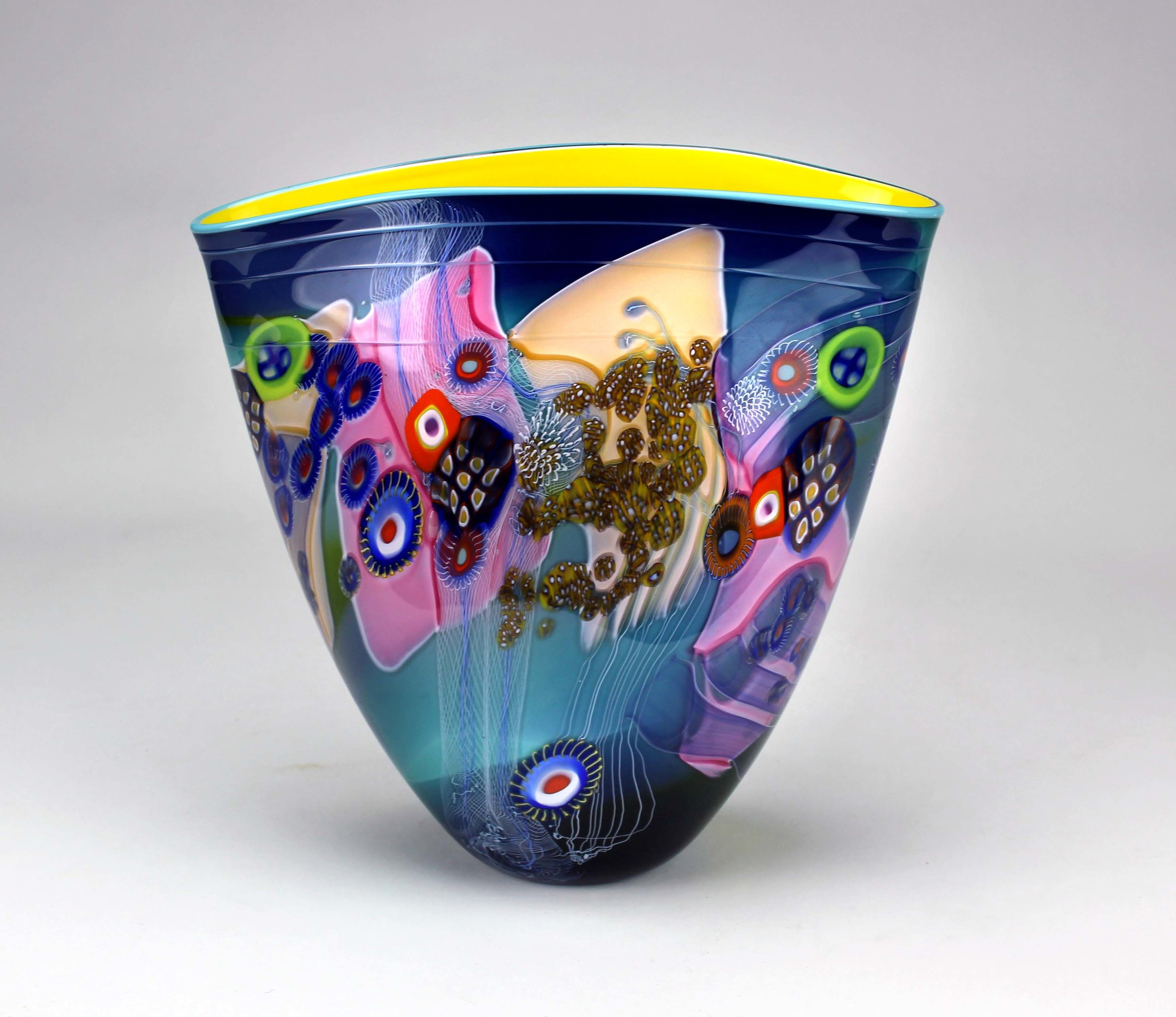 Colorfield Vessel   The flagship form of the Colorfield Series.