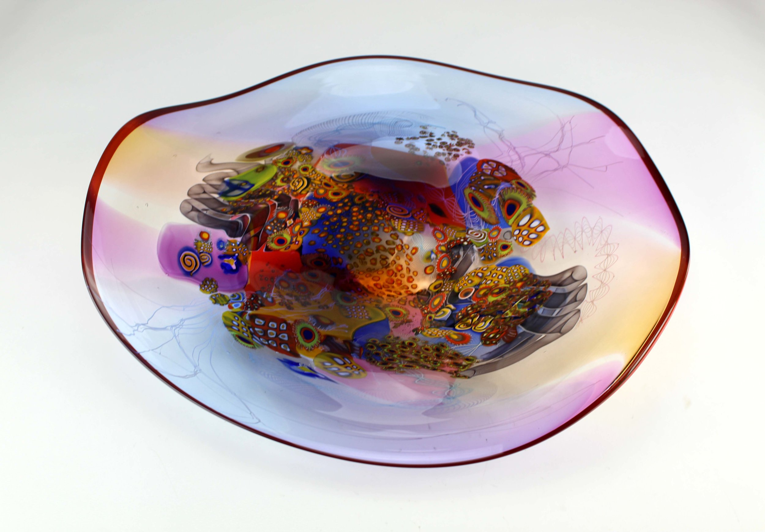 Colorfield Platter - The Grandest of pieces for the table or wall