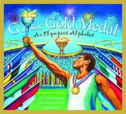 G is for Gold Medal: An Olympics Alphabet  by Brad Herzog   This is a fantastic book to help kids see what the Olympics is all about. It is a non-fiction book that gives facts by using the alphabet. What I love about this book is the small readable facts that don't overwhelm young kids and perfect for younger readers to manage.