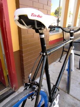 white TaBo saddle by Soma