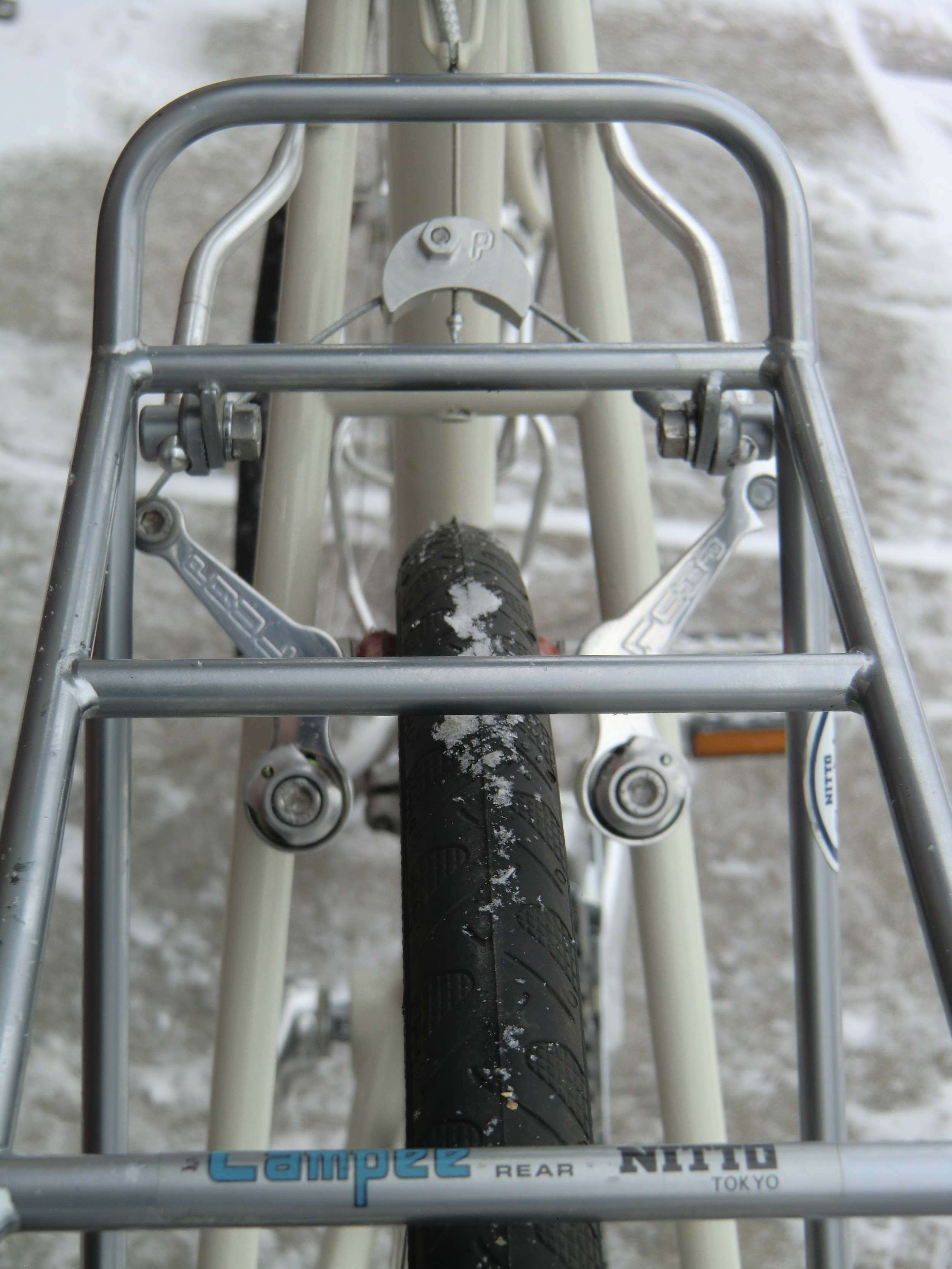 NITTO ChroMoly rear rack