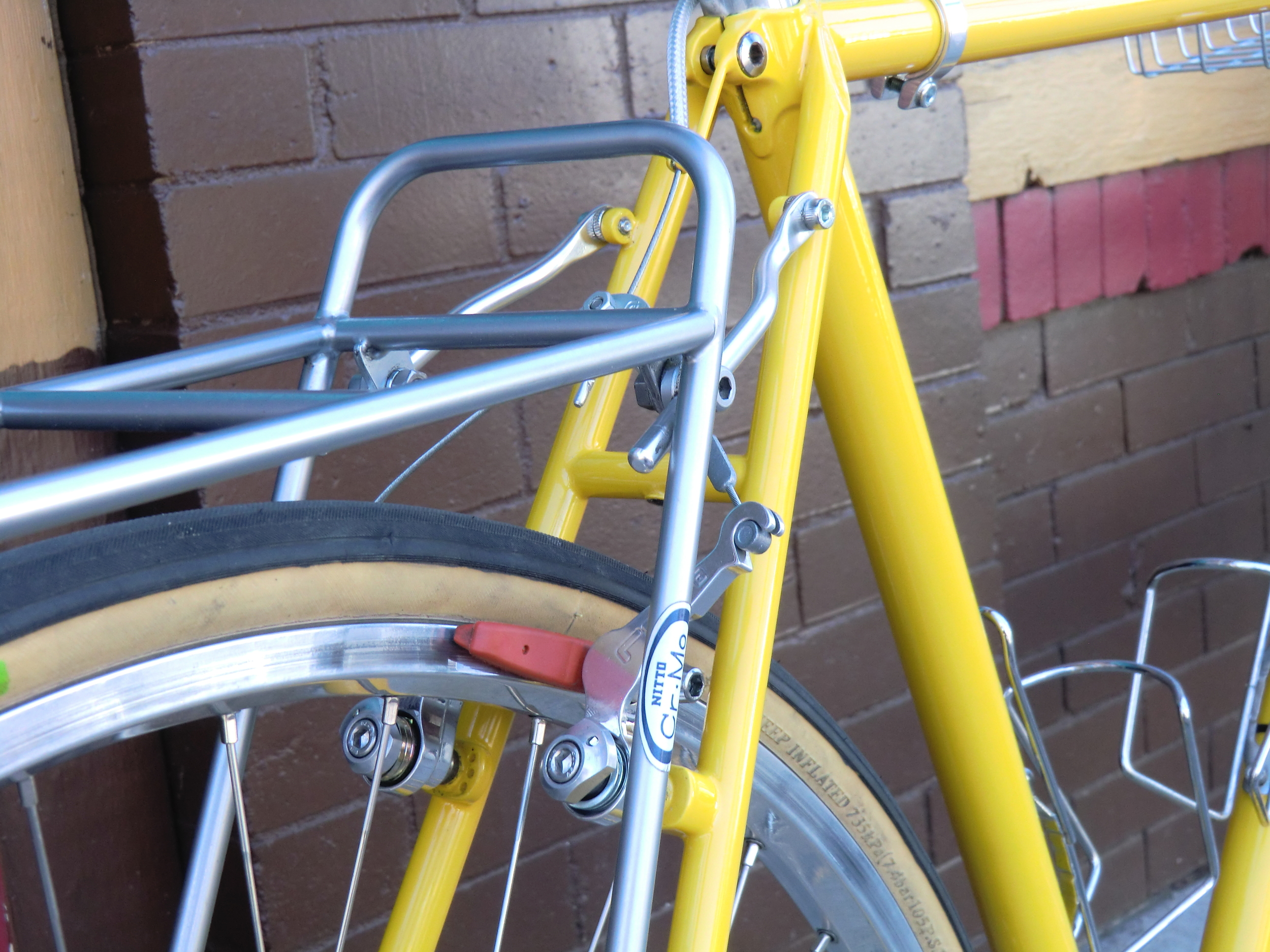 Another NITTO rear rack, ChroMoly
