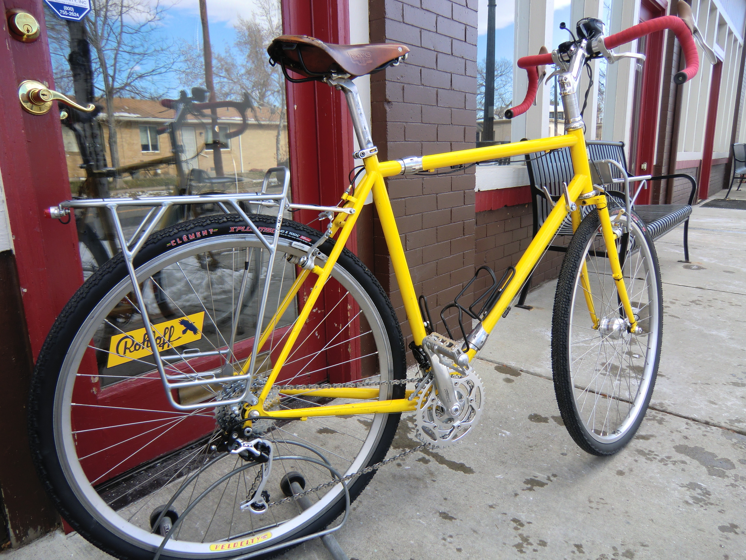 newly overhauled Gunnar Touring bicycle
