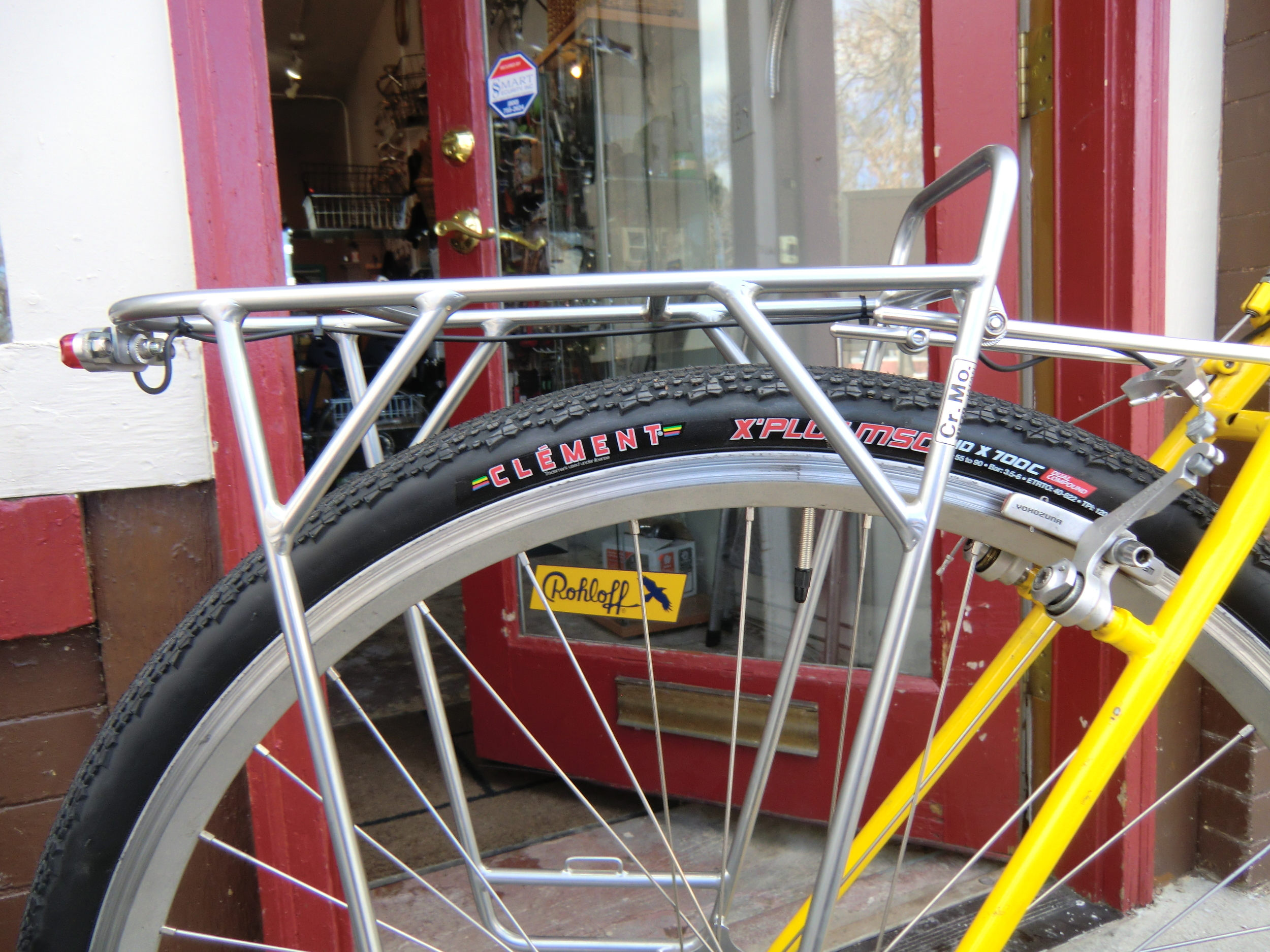 NITTO rear rack, Clement tires