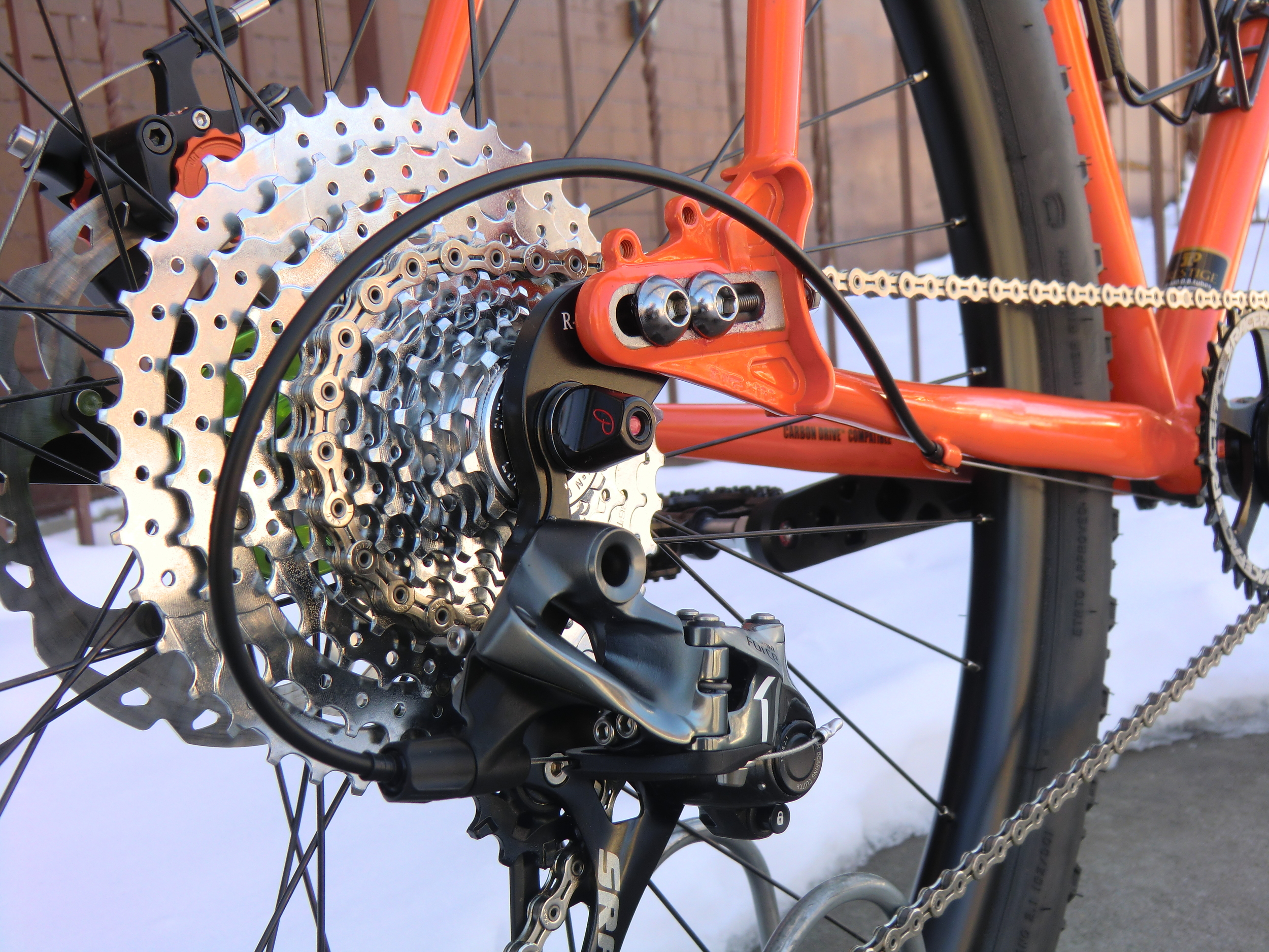 IRD's 11-speed cassette is compatible with SRAM road shifters