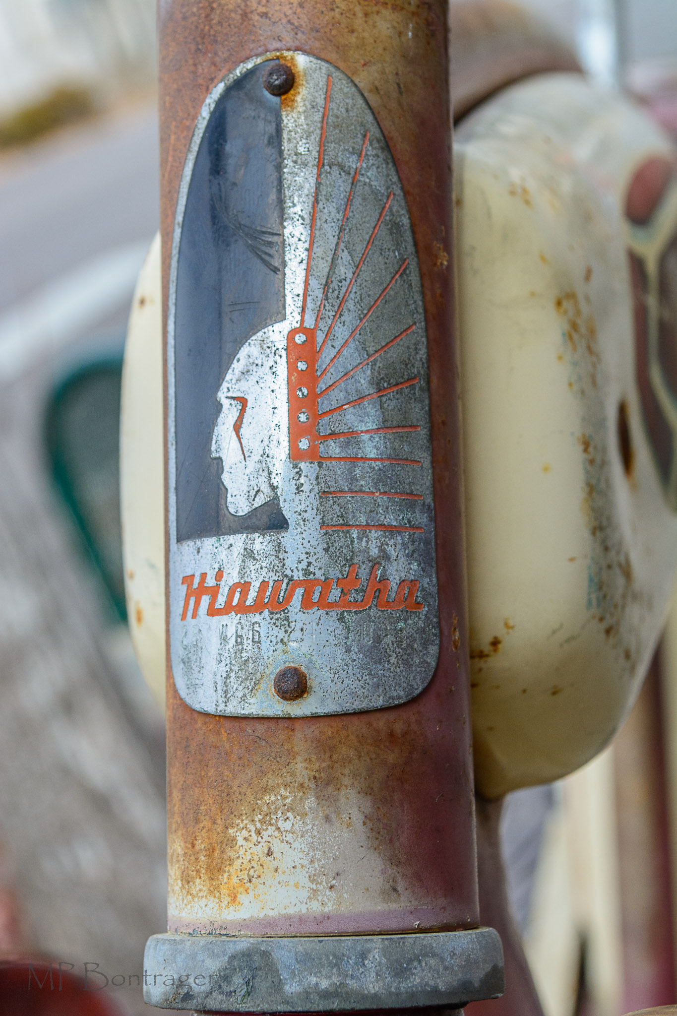 Art Deco design elements influenced this Head Badge art work