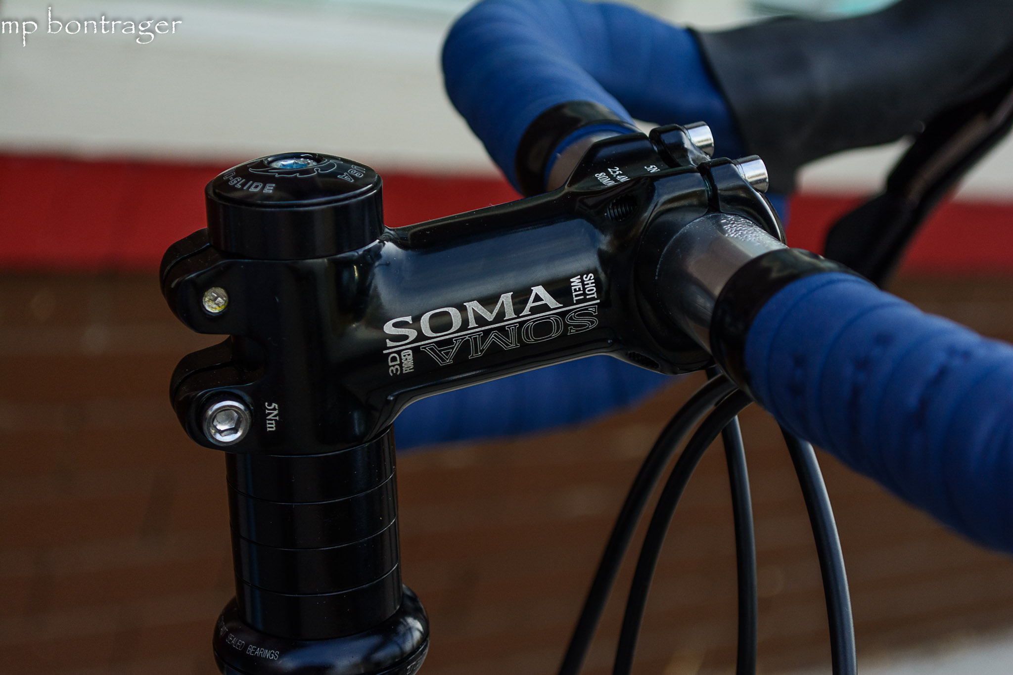 Soma stem, Tange headset, NITTO handle bars
