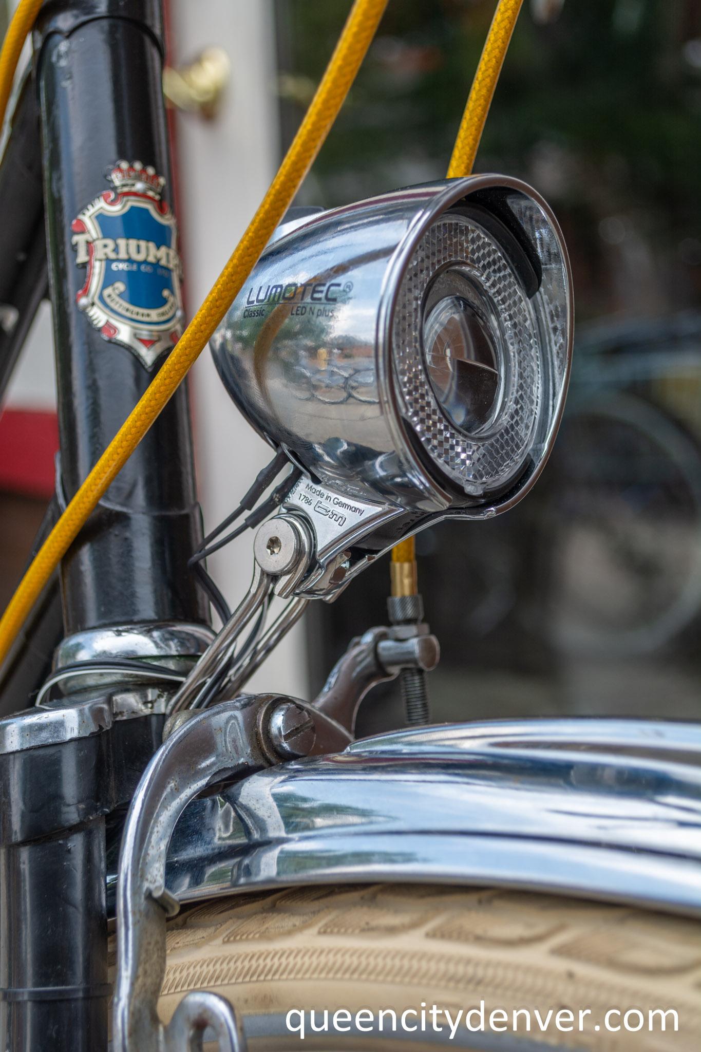 New Lumotec head lamp