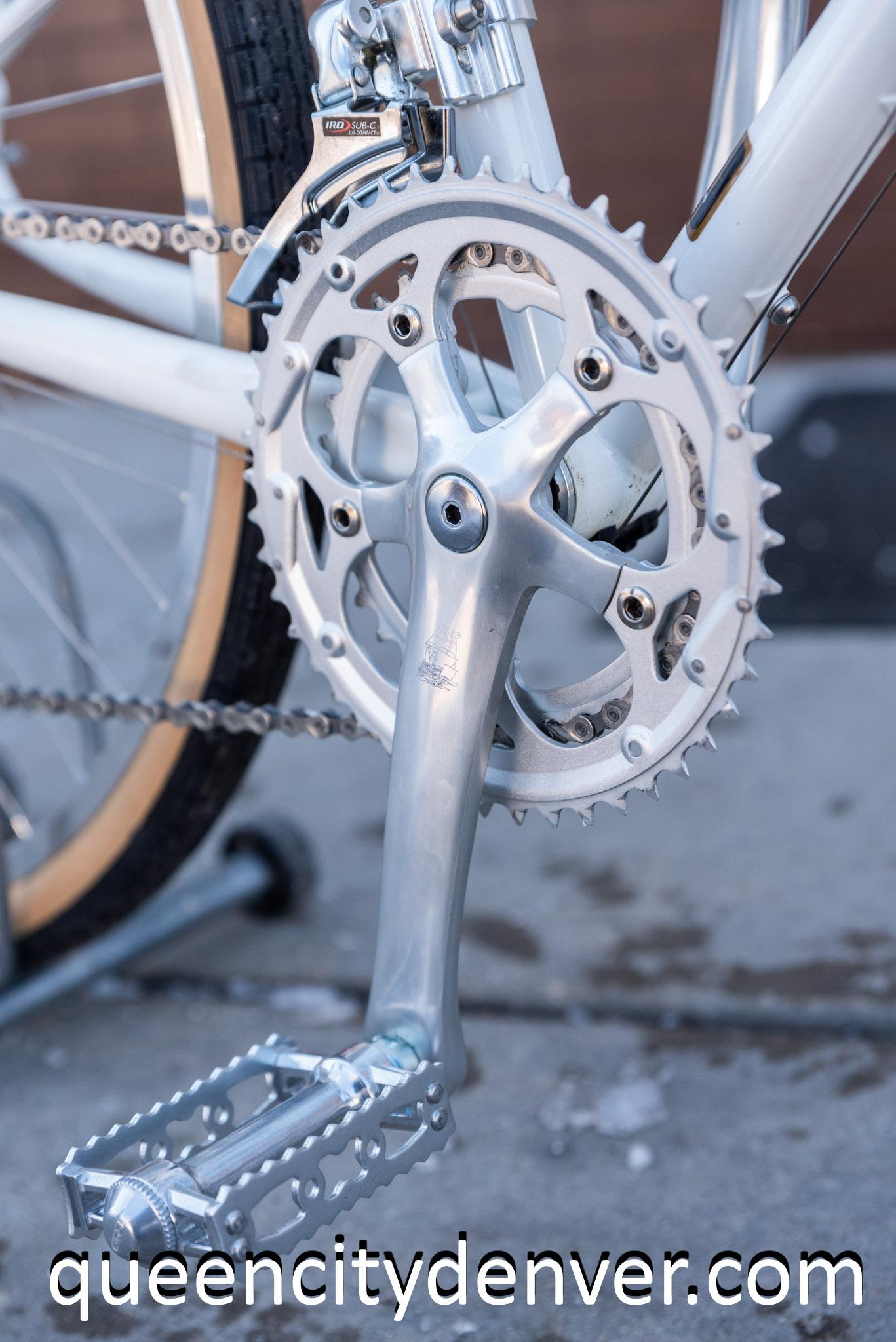 MKS touring pedals, New Albion crankset