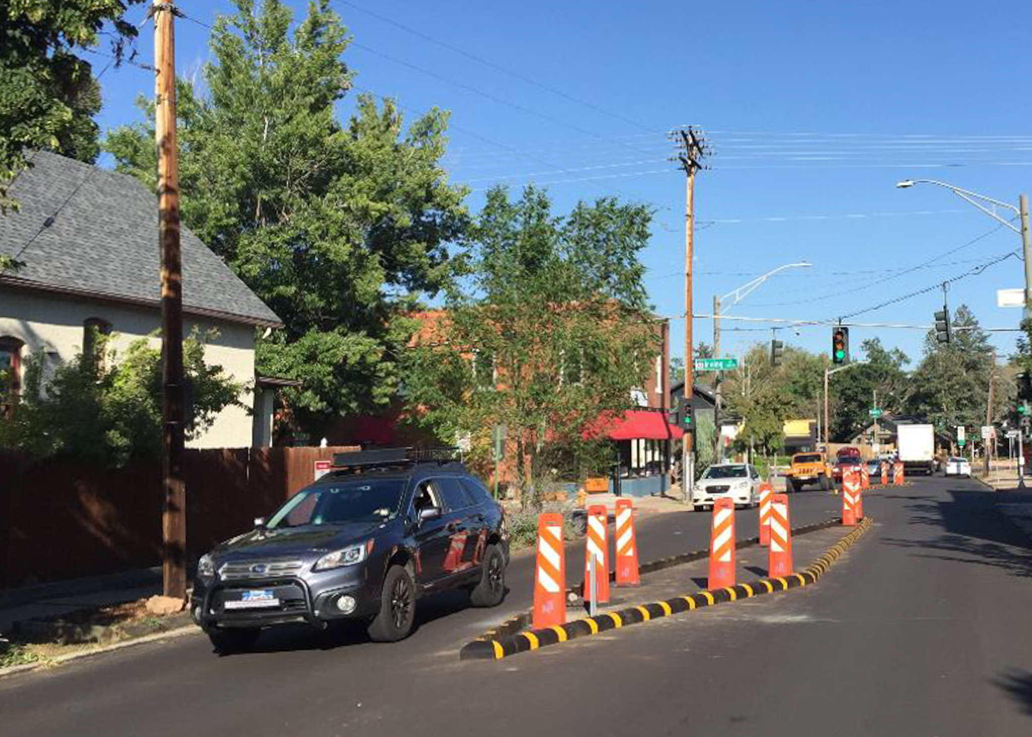traffic calming measures at 32nd and Julian streets