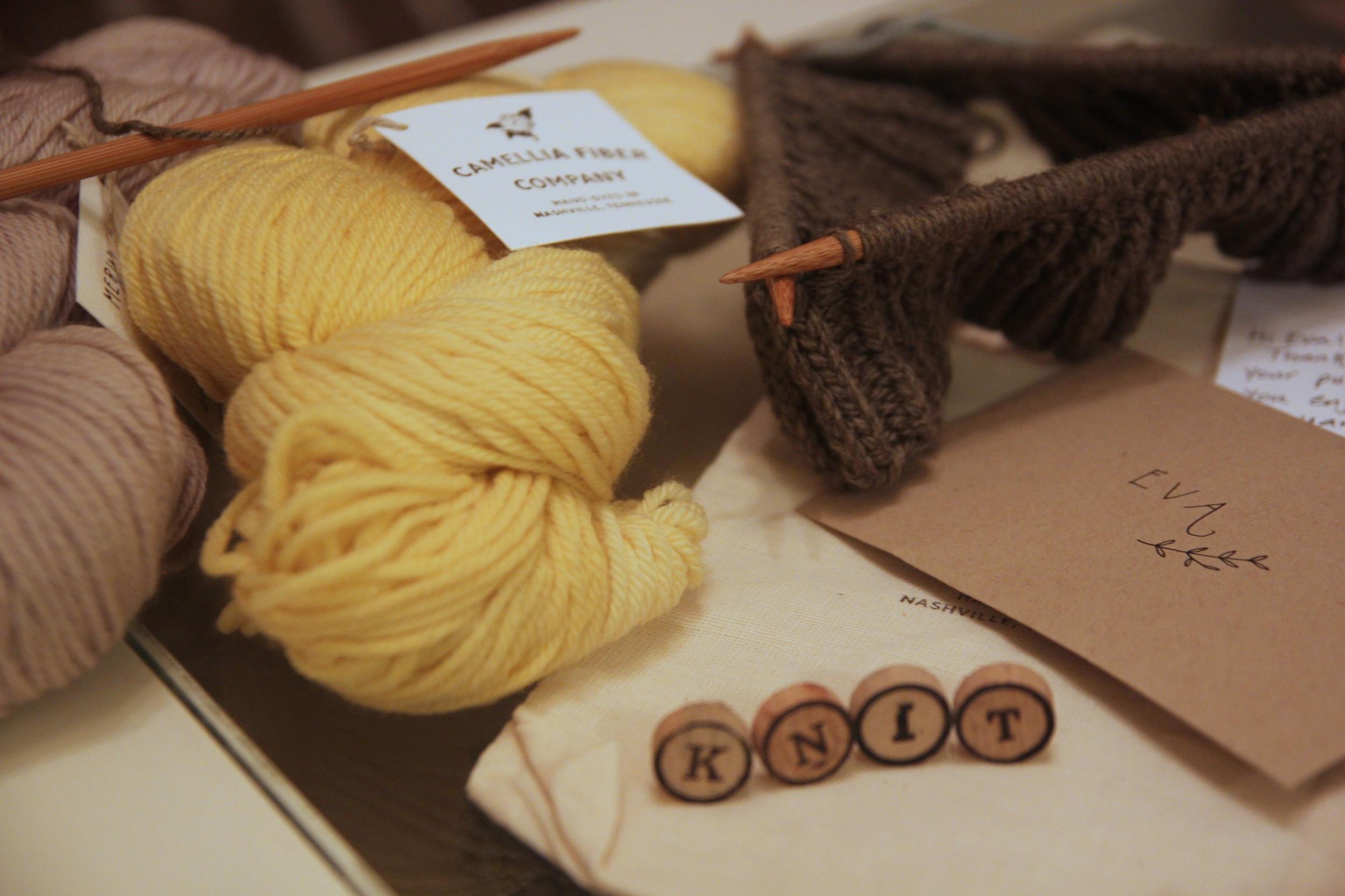 Camellia Fiber Company Yarns