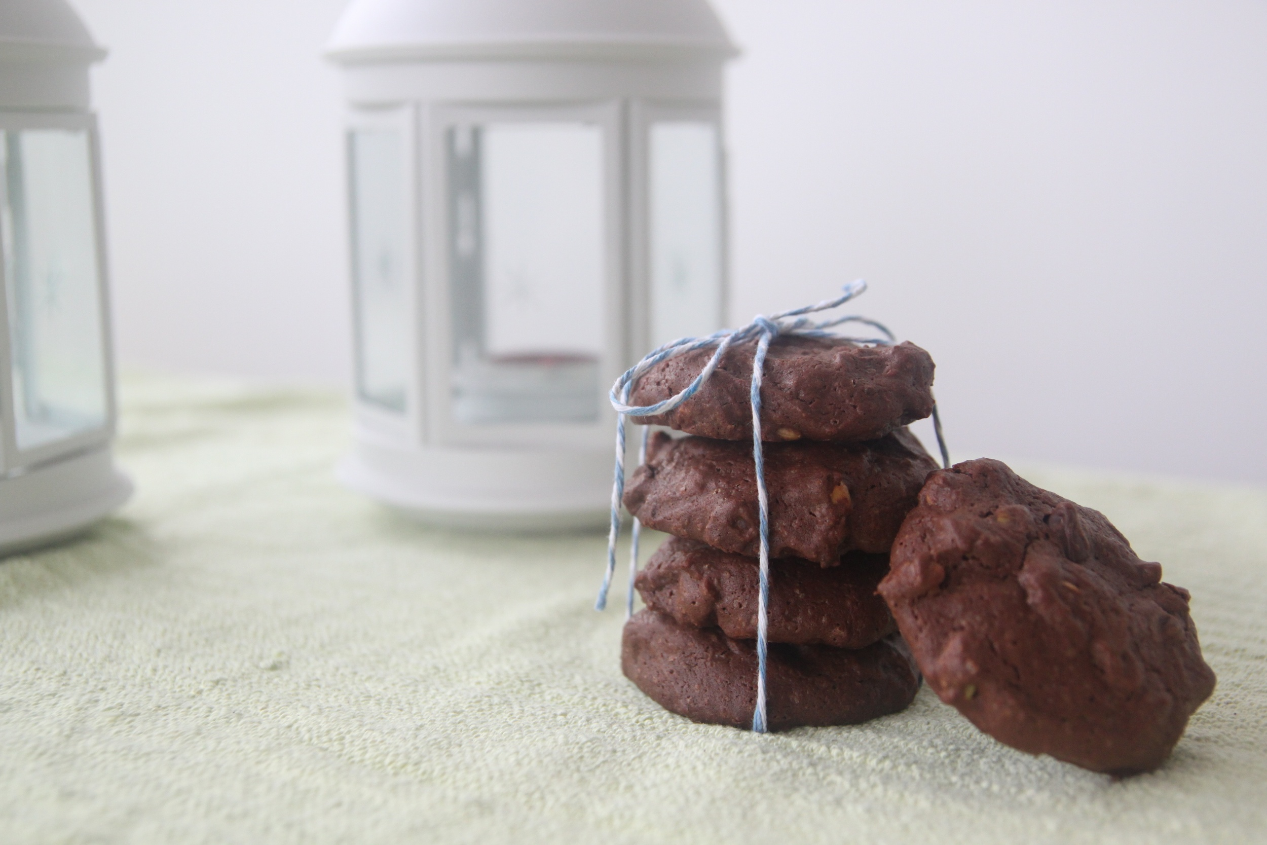 Double-chocolate brownie cookies