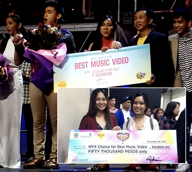 Collaboration is MINT's greatest feat. Students from various disciplines won back-to-back at ABS-CBN MYX's  Himig Handog . Two music videos of two groups,  Tayo Na Lang Kasi  (sung by Kyla and Jason Dy) and  O Pag-Ibig  (featuring Bailey May and Ylona Garcia), both won grand prize in the said competition.