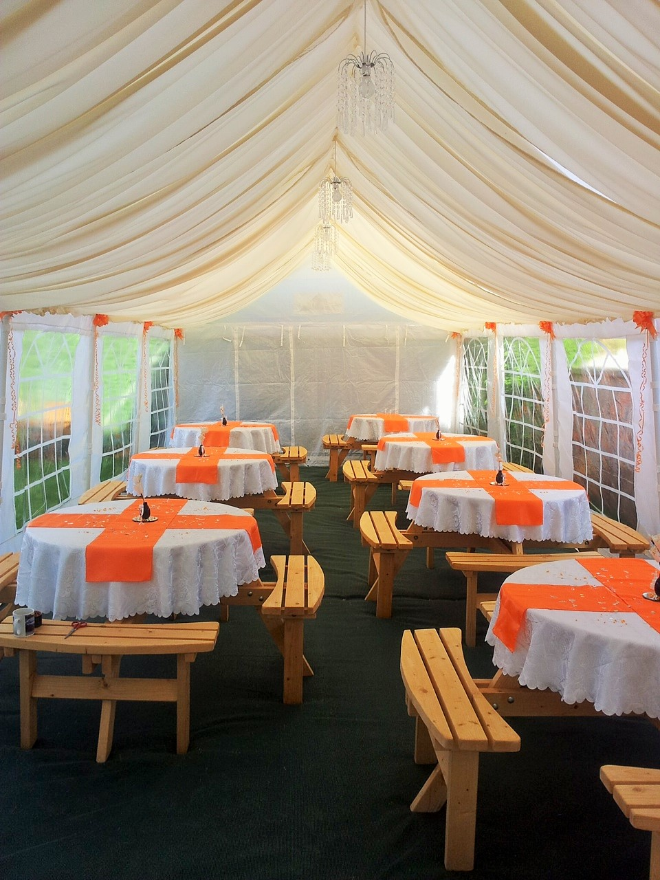 Roof Lined Wedding Marquee.JPG