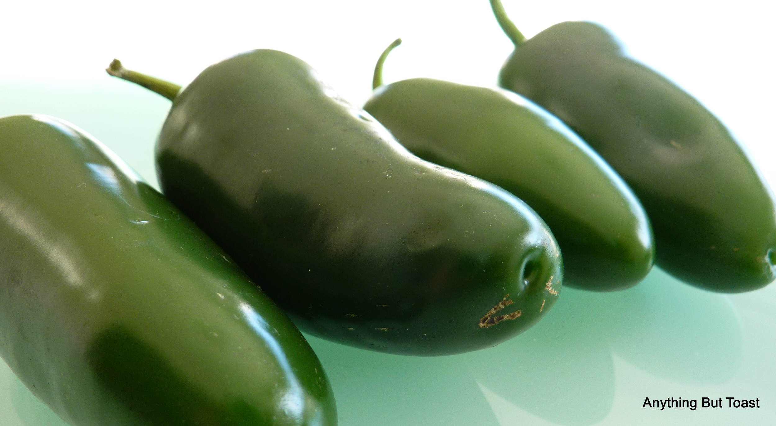 Jalapeno anyone! Mr ABT loves all peppers and I am having fun experimenting with different stuffings.  Stay tuned for the winner!