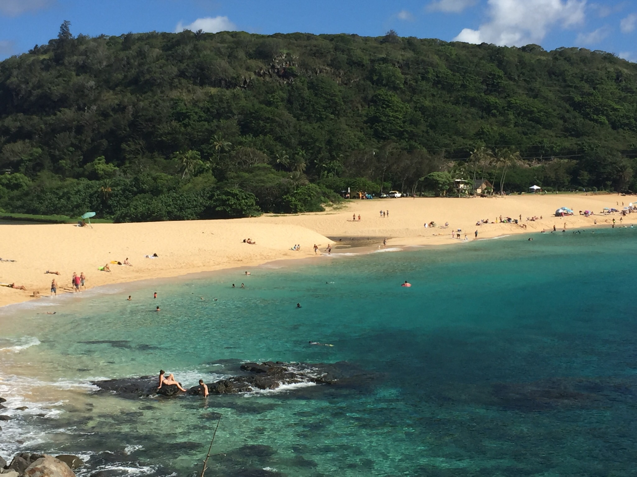 Waimea Bay - difficult to imagine pumping surf in winter