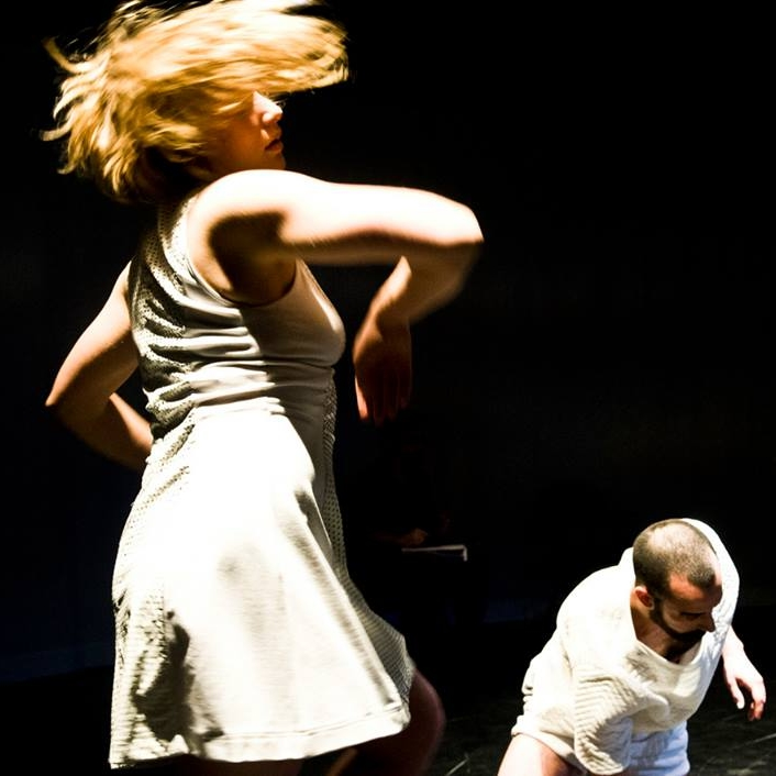 Jolyane Langlois in  Around . Photo by Omer Yukseker
