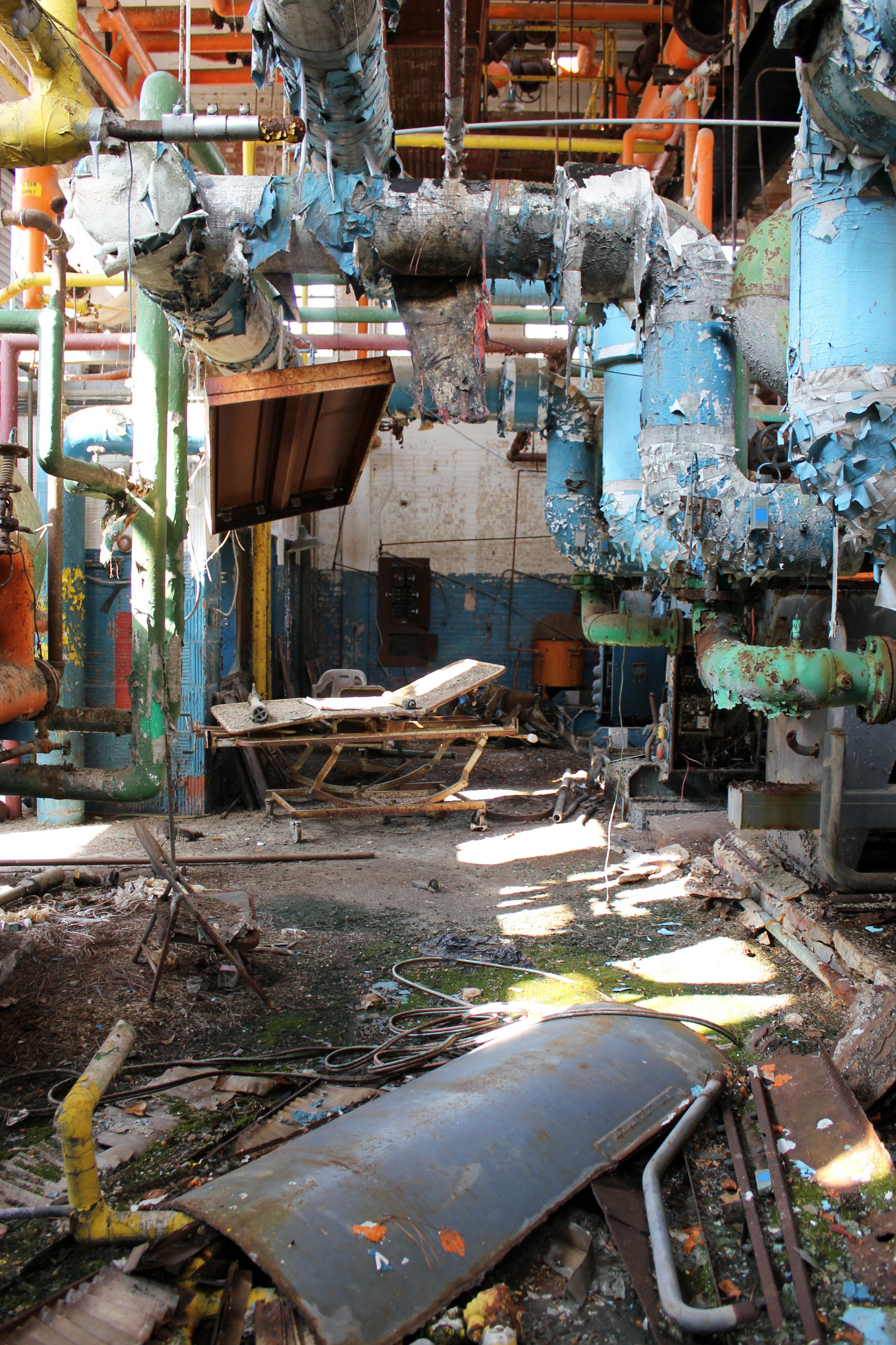 Conway Hospital Boiler Room