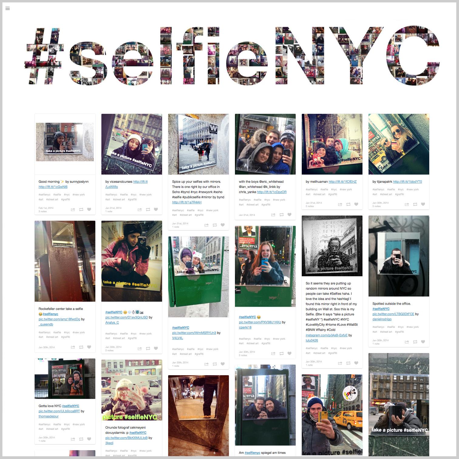#selfieNYC
