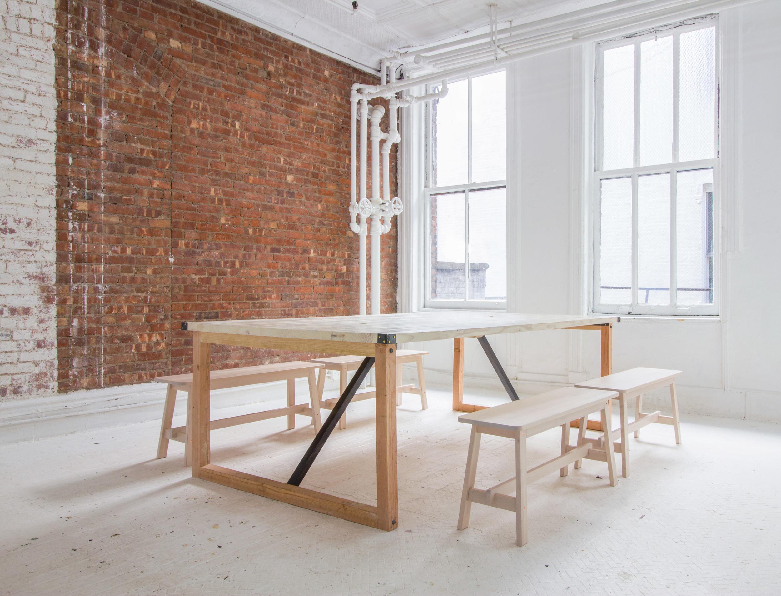 Homemade Startup Table