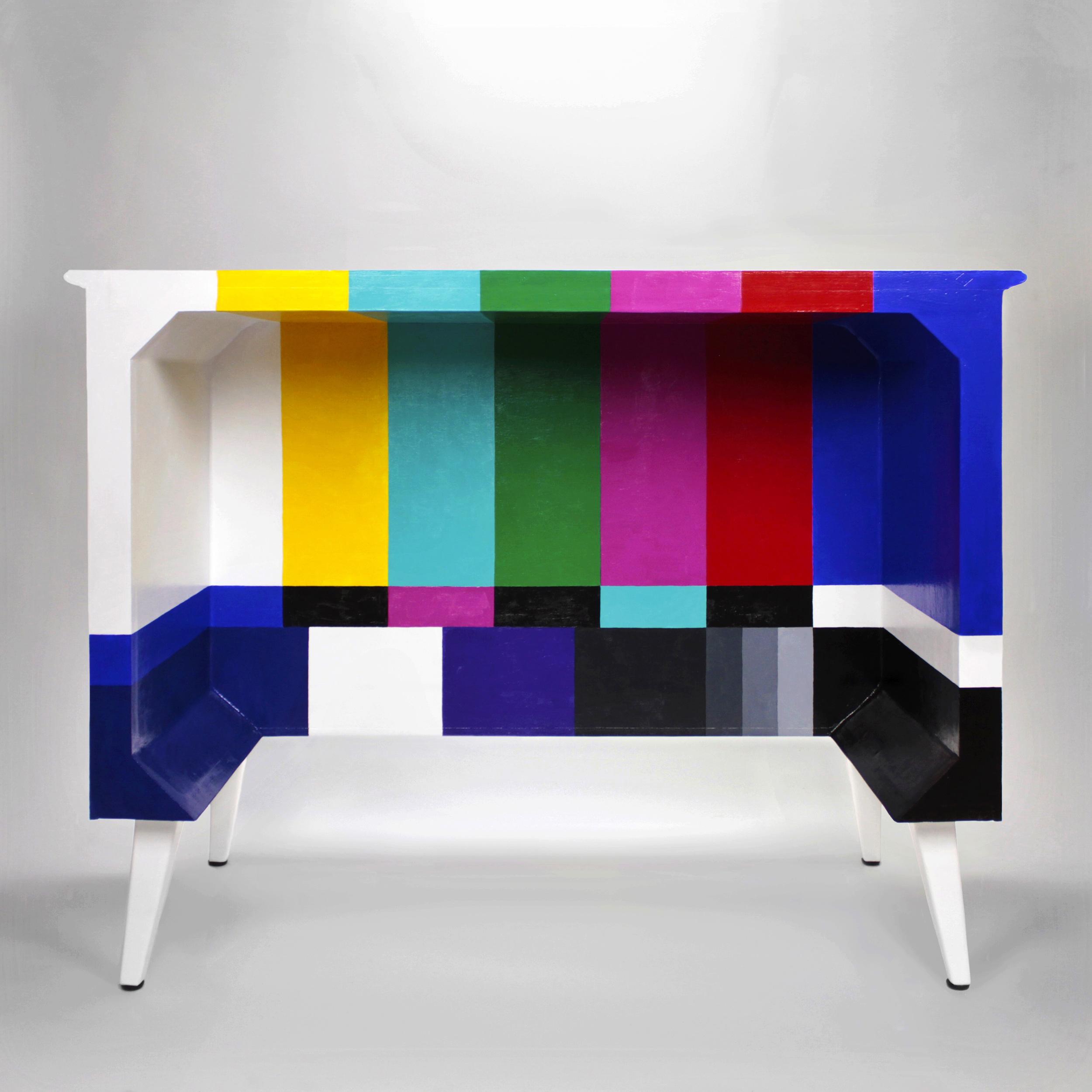 Zenith Color TV Desk (Back)