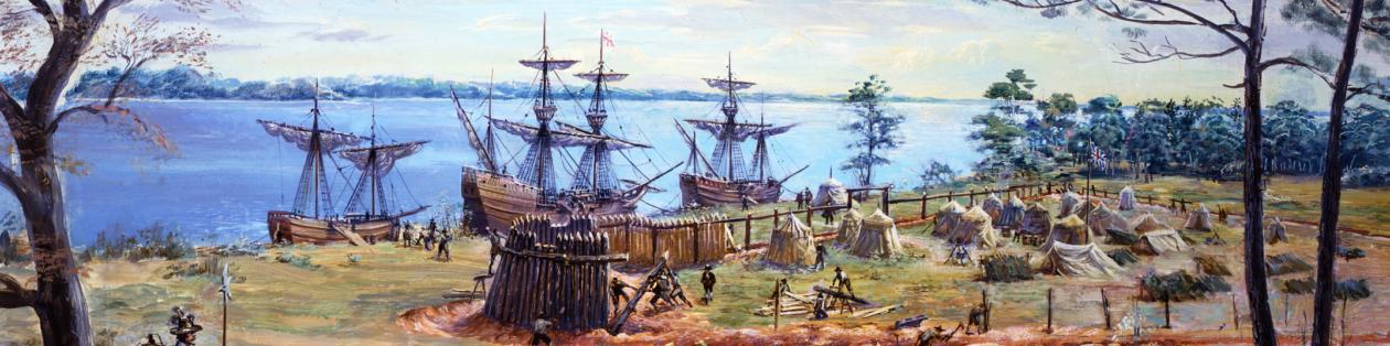 Ilustrasi Kolonial Inggris