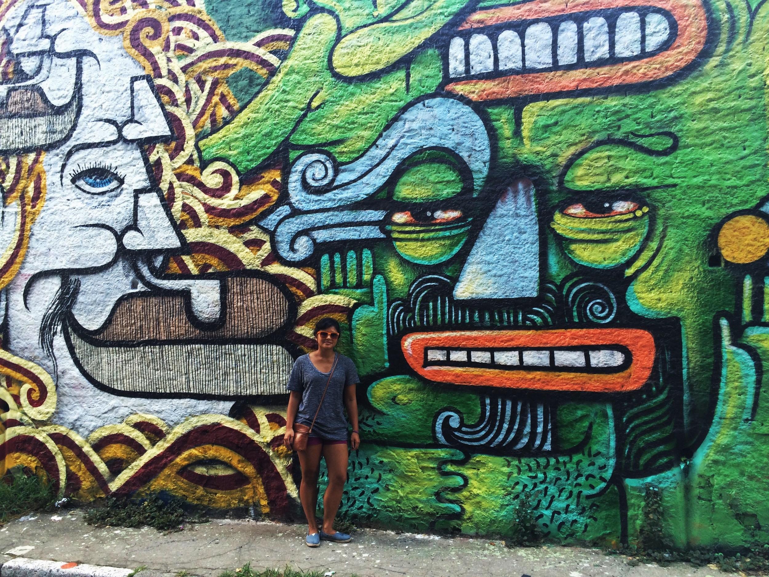 The murals of Vila Madalena
