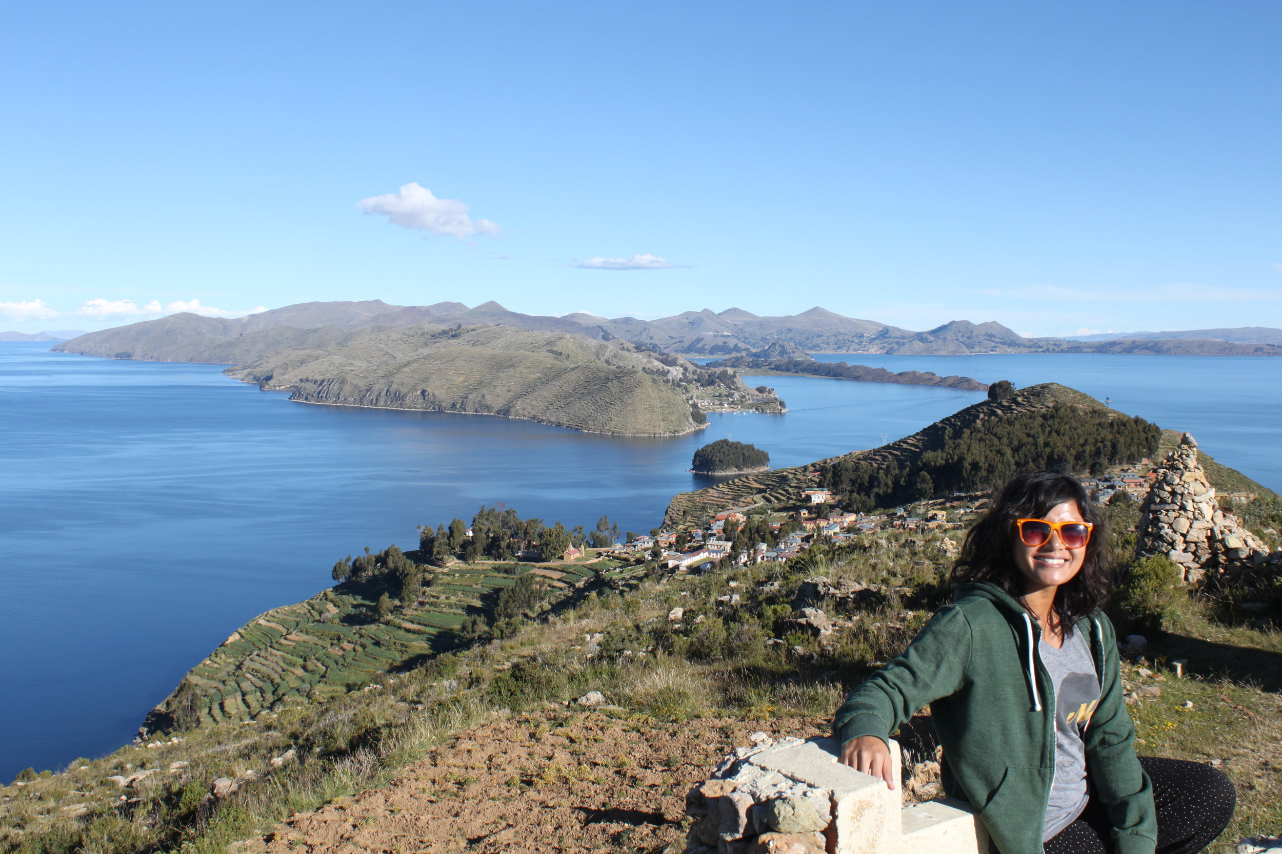 A stunning island in the middle of Lake Titicaca