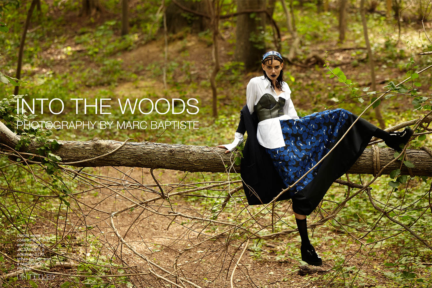 INTO THE WOODS - Photography by Marc Baptiste for The Untitled Magazine-1.jpg