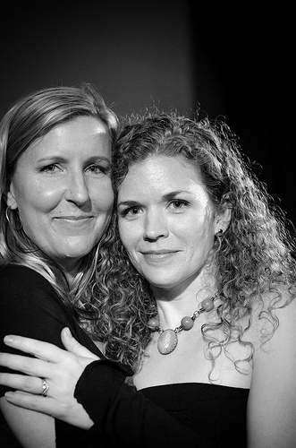 Christine Mason Miller and Jen Lee, photo by Justin Davanzo