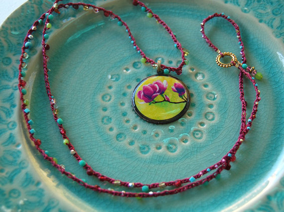 Original art and jewelry by Liz Kalloch