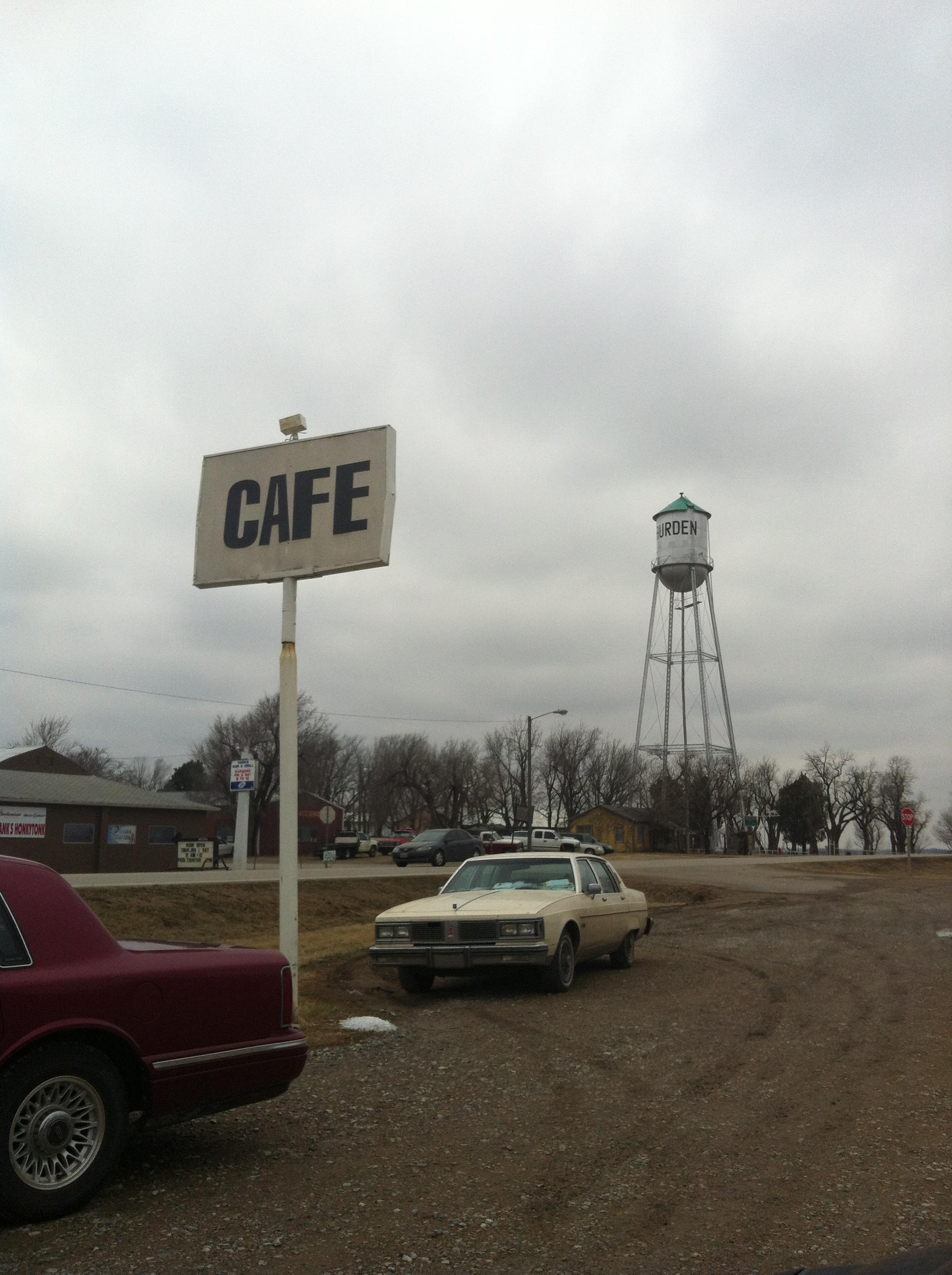 160 Cafe, Burden