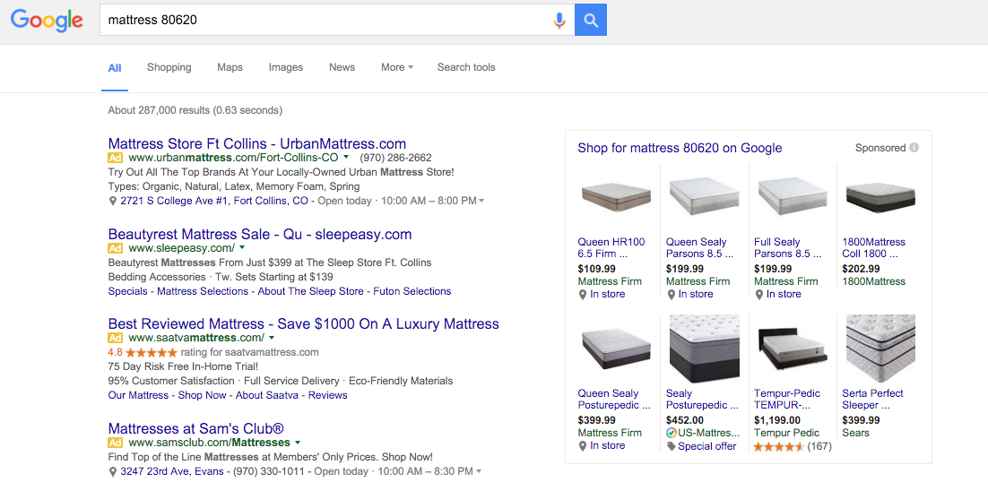 Google discontinued AdWords on the right sidebar and replaced it with the Knowledge Graph