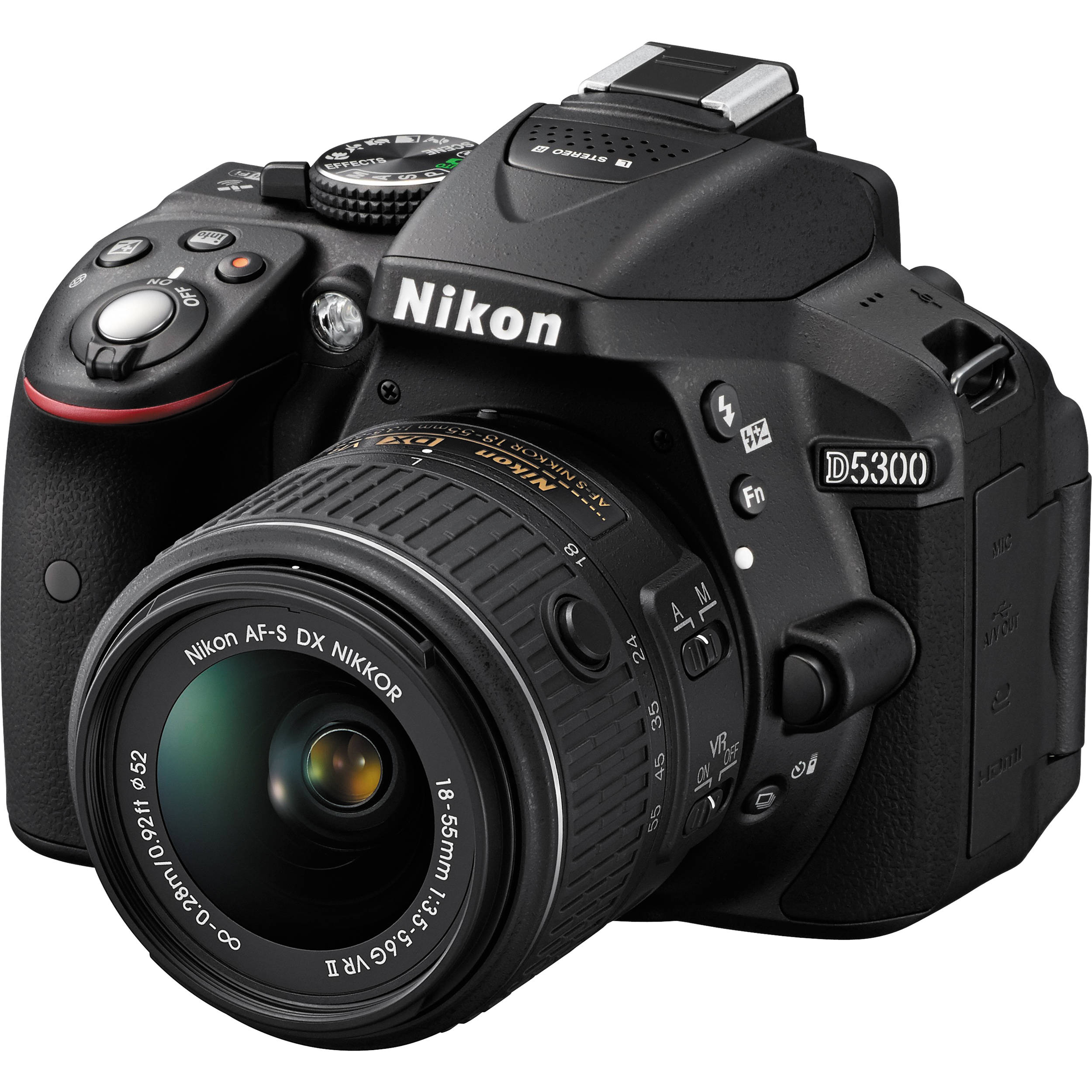 Nikon D5300, a great starter camera for videos and photography.