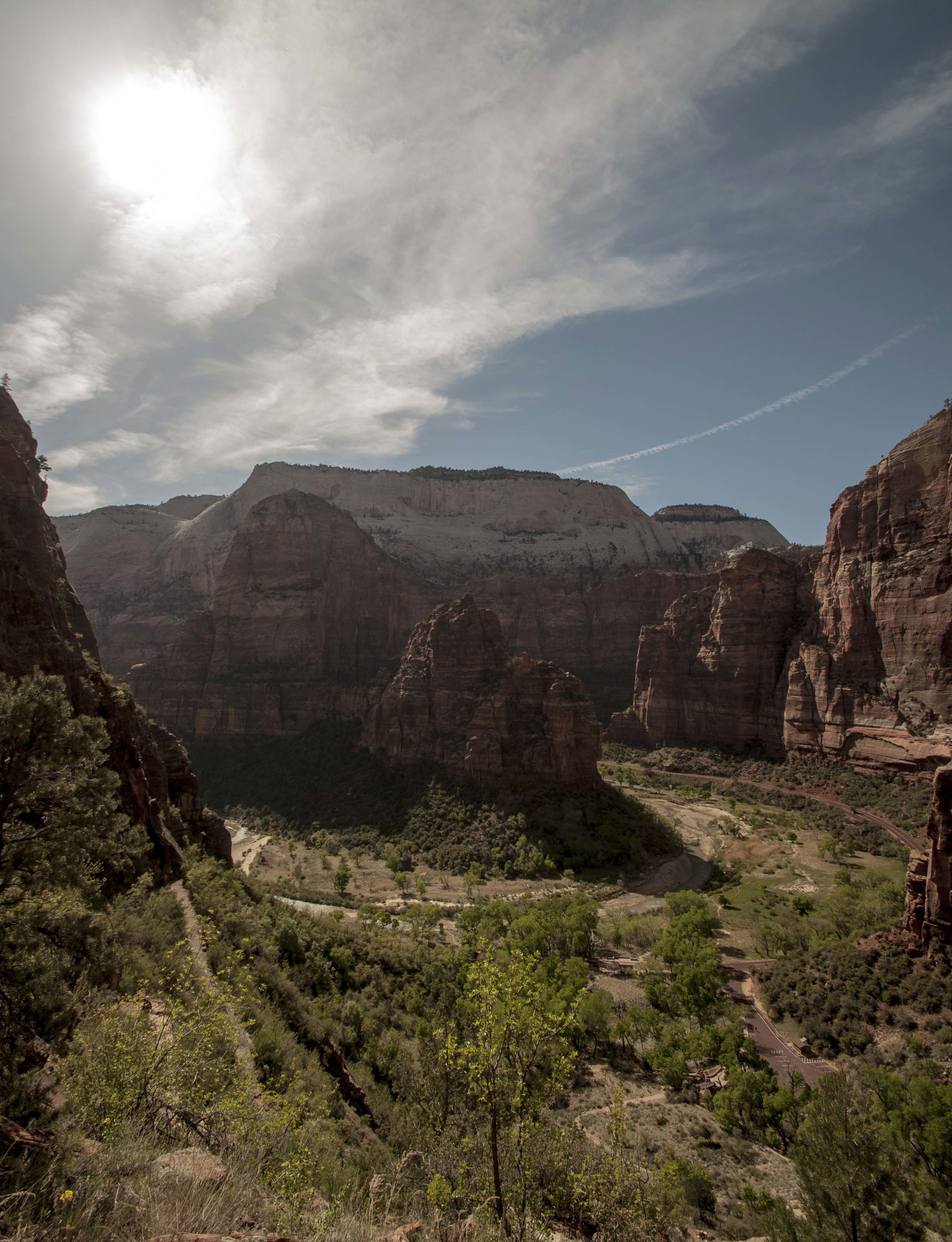Bend of the Virgin River. Photograph by Stefan Moser, post-processed by Christine Moser.