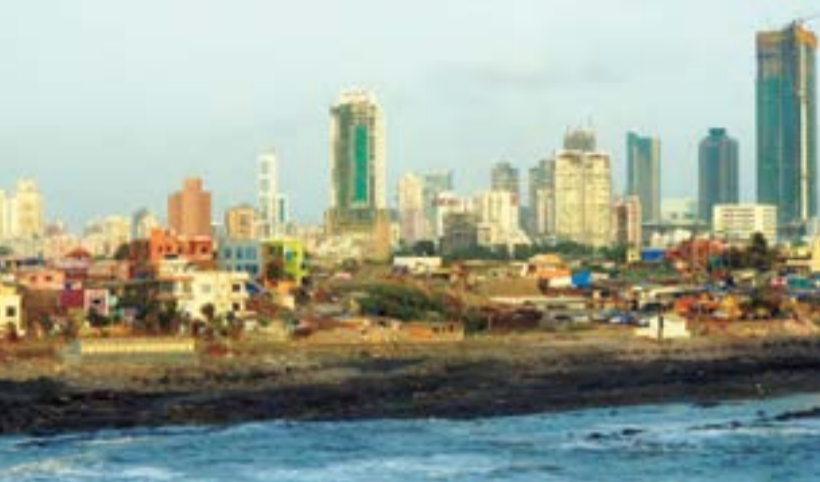 """""""In Mumbai, we seemed to oscillate between the extremes of rich and poor,"""" said John Gorton '15.""""Being thrown from one extreme to the other has made me feel uneasy in both."""" Twenty million ofIndia's 1.2 billion people live in the west coast city."""