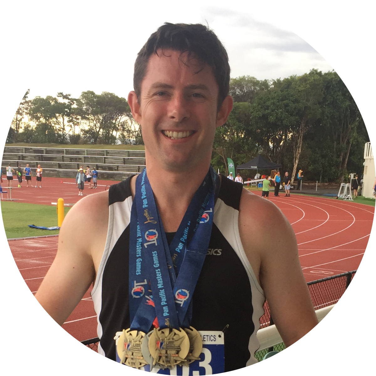 """Late last year I competed in the Pan Pacific Masters Games and won Gold in the 60m, 100m, 200m and Silver in the 400m Athletic Sprints. The motivation, dedication and commitment to my training that Nathan provided was above anything that I was expecting.""* - Justin - Read more here..."